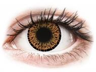 Lente me ngjyrë pa numër - ColourVUE Elegance Brown - Lente me Ngjyre (2lente)