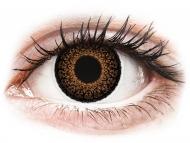 Lente kontakti Kafe - jo optike - ColourVUE Eyelush Brown - Lente me Ngjyre (2lente)