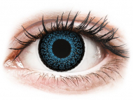 Lente me ngjyrë me numër - ColourVUE Eyelush Blue - Lente me Ngjyre & Optike (2lente)