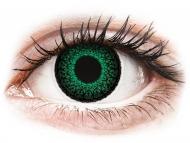 Lente me ngjyrë me numër - ColourVUE Eyelush Green - Lente me Ngjyre & Optike (2lente)