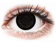 Lente me ngjyrë me numër - ColourVUE BigEyes Dolly Black - Lente me Ngjyre & Optike (2lente)