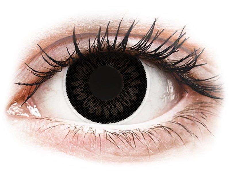 ColourVUE BigEyes Dolly Black - Lente me Ngjyre & Optike (2lente) - Coloured contact lenses
