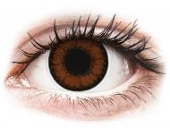 Lente kontakti Kafe - jo optike - ColourVUE BigEyes Pretty Hazel - Lente me Ngjyre (2lente)