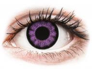 Lente me ngjyrë pa numër - ColourVUE BigEyes Ultra Violet - Lente me Ngjyre (2lente)