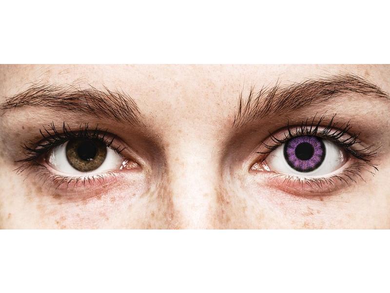 ColourVUE BigEyes Ultra Violet - Lente me Ngjyre (2lente)