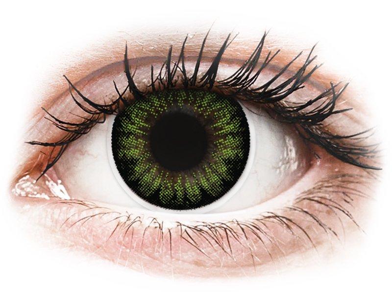ColourVUE BigEyes Party Green - Lente me Ngjyre (2lente)