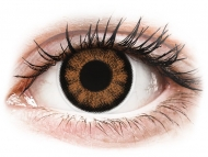 Lente kontakti Kafe - optike - ColourVUE BigEyes Sexy Brown - Lente me Ngjyre & Optike (2 lente)