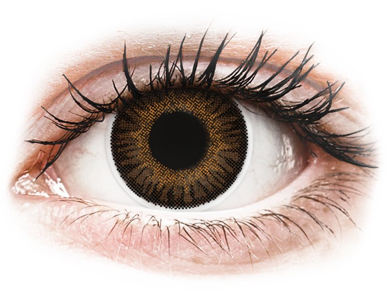 ColourVUE 3 Tones Brown - Lente me Ngjyre & Optike (2lente)