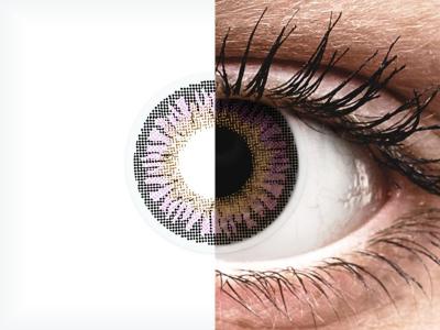 ColourVUE 3 Tones Violet - Lente me Ngjyre (2lente)