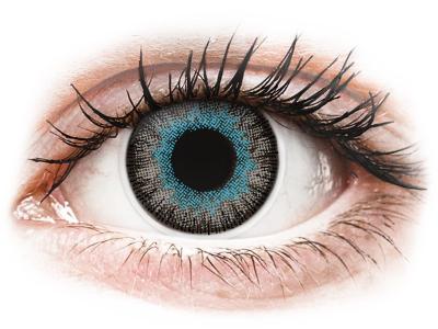 ColourVUE Fusion Blue Gray - Lente me Ngjyre & Optike (2lente)