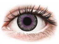 Lente me ngjyrë pa numër - ColourVUE Fusion Violet Gray - Lente me Ngjyre (2lente)