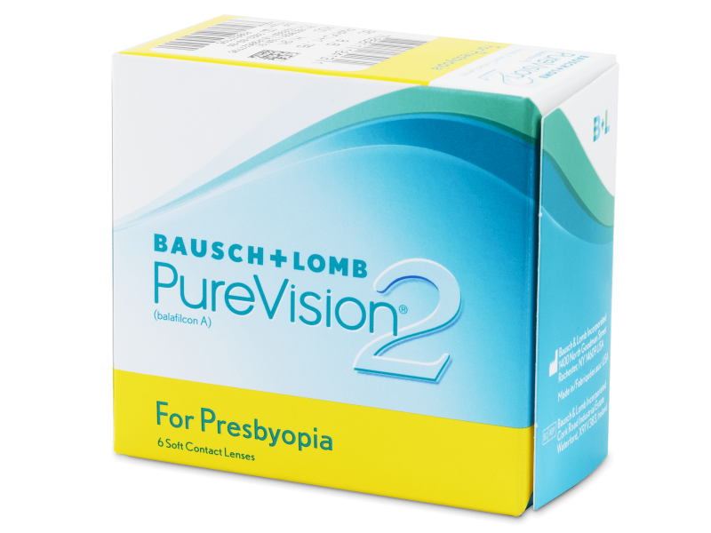 Purevision 2 for Presbyopia (6 lente) - Multifocal contact lenses