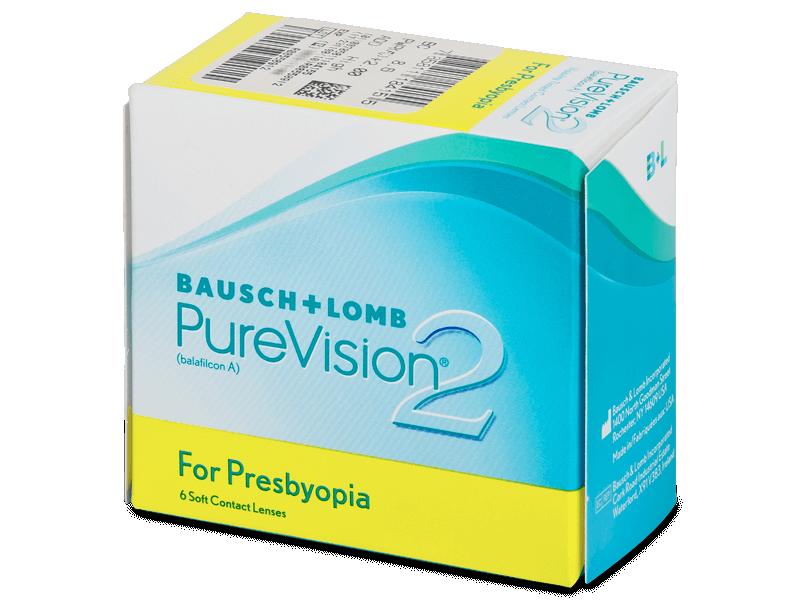 Purevision 2 for Presbyopia (6 lente) - Multifocal contact lenses