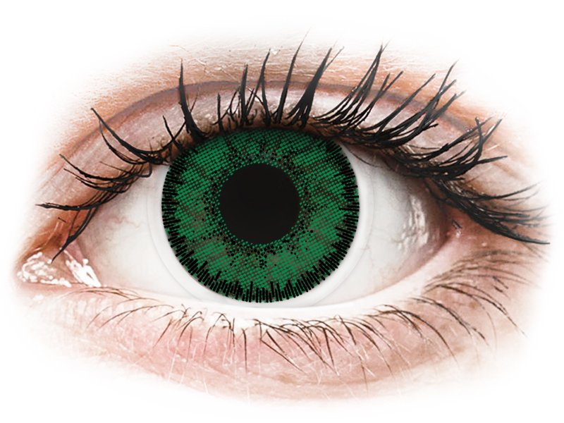 SofLens Natural Colors Emerald - Lente me Ngjyre & Optike (2 lente) - Coloured contact lenses