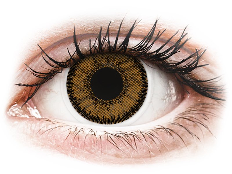 SofLens Natural Colors India - Lente me Ngjyre & Optike (2 lente) - Coloured contact lenses