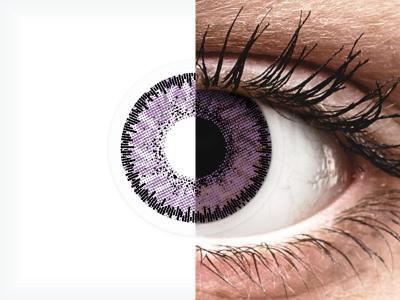 SofLens Natural Colors Indigo - Lente me Ngjyre & Optike (2 lente)