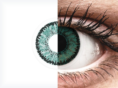 SofLens Natural Colors Jade - Lente me Ngjyre & Optike (2 lente)