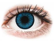 Lente kontakti Blu - jo optike - SofLens Natural Colors Topaz - Lente me Ngjyre (2 lente)