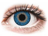 Lente kontakti Blu - optike - Expressions Colors Dark Blue - Lente me Ngjyre & Optike (1 lente)