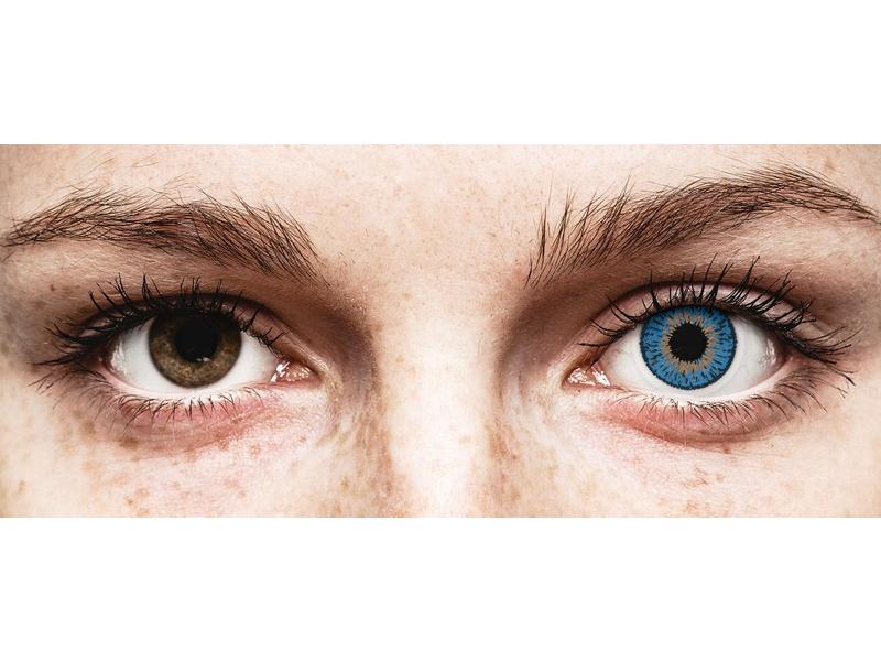 Expressions Colors Dark Blue - Lente me Ngjyre & Optike (1 lente)