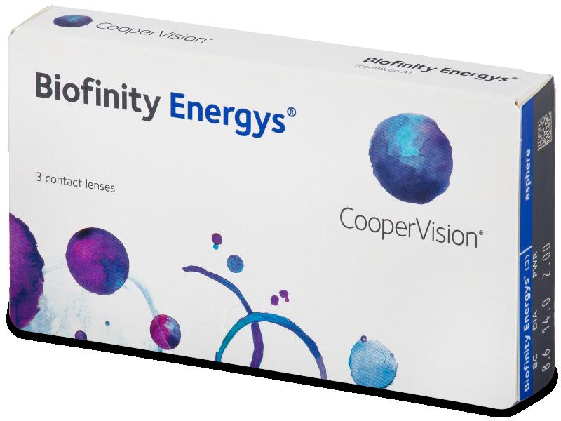 Biofinity Energys (3 lente) - Contact lenses