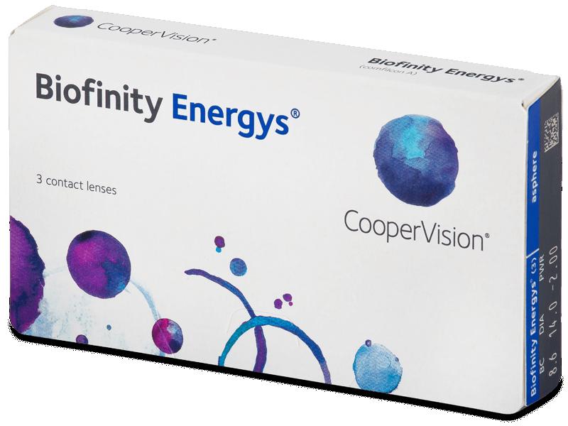 Biofinity Energys (3 lente) - Monthly contact lenses