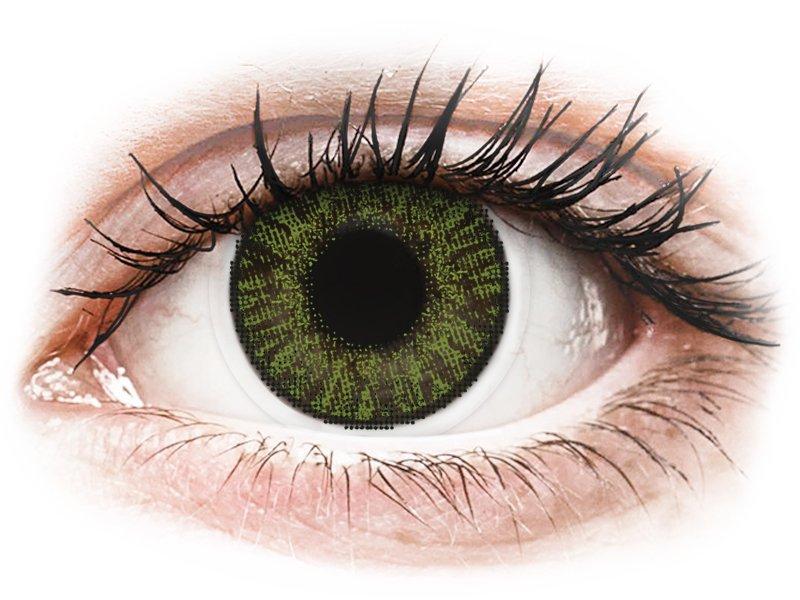 FreshLook ColorBlends Green - Lente me Ngjyre & Optike (2 lente) - Coloured contact lenses