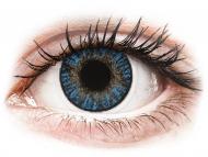 Lente kontakti Blu - optike - FreshLook ColorBlends True Sapphire - Lente me Ngjyre & Optike (2 lente)