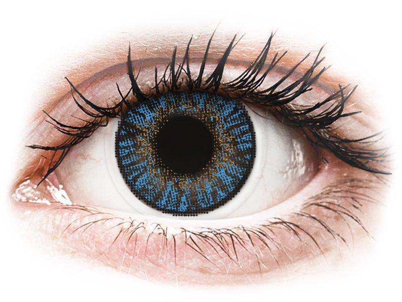 FreshLook ColorBlends True Sapphire - Lente me Ngjyre & Optike (2 lente)