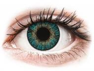 Lente kontakti Blu - jo optike - FreshLook ColorBlends Turquoise - Lente me Ngjyre (2 lente)