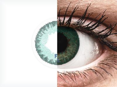 FreshLook Dimensions Carribean Aqua - Lente me Ngjyre & Optike (6 lente)
