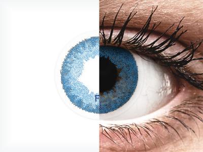 FreshLook Dimensions Pacific Blue - Lente me Ngjyre & Optike (6 lente)