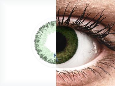FreshLook Dimensions Sea Green - Lente me Ngjyre & Optike (6 lente)