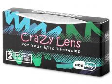 ColourVUE Crazy Lens - Twilight - Lente kozmetike ditore (2 lente)