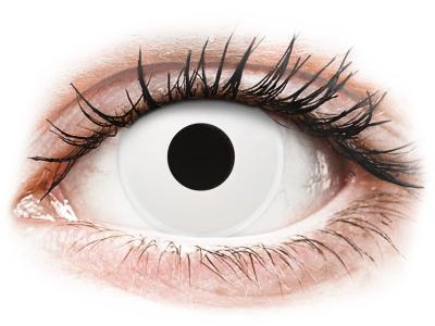ColourVUE Crazy Lens - Whiteout - Lente kozmetike ditore (2 lente)