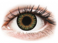 Lente kontakti Kafe - optike - ColourVue One Day TruBlends Green - Lente me Ngjyre & Optike (10 lente)