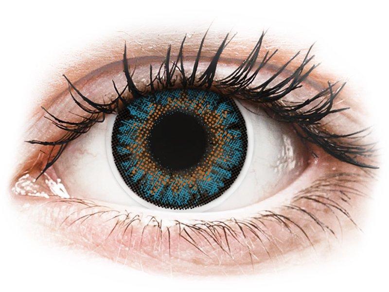 ColourVue One Day TruBlends Blue - Lente me Ngjyre & Optike (10 lente) - Coloured contact lenses