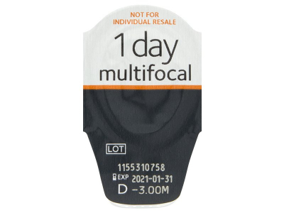 Proclear 1 Day Multifocal (30lente) - Blister pack preview