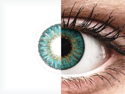 Air Optix Colors - Turquoise - Lente me Ngjyre & Optike (2lente)