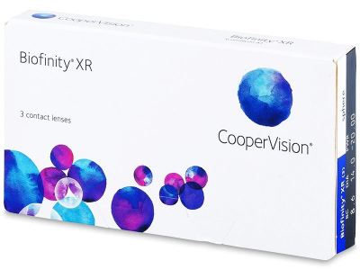 Biofinity XR (3 lente) - Monthly contact lenses