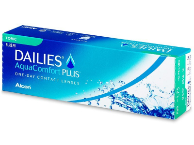 Dailies AquaComfort Plus Toric (30 lente)