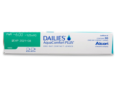 Dailies AquaComfort Plus Toric (90lente) - Attributes preview