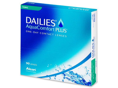 Dailies AquaComfort Plus Toric (90 lente)