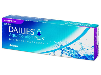 Dailies AquaComfort Plus Multifocal (30 lente)