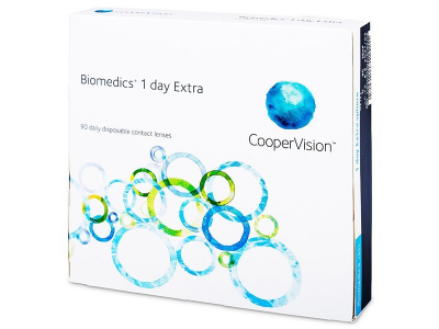 Biomedics 1 Day Extra (90lente) - Lente Ditore