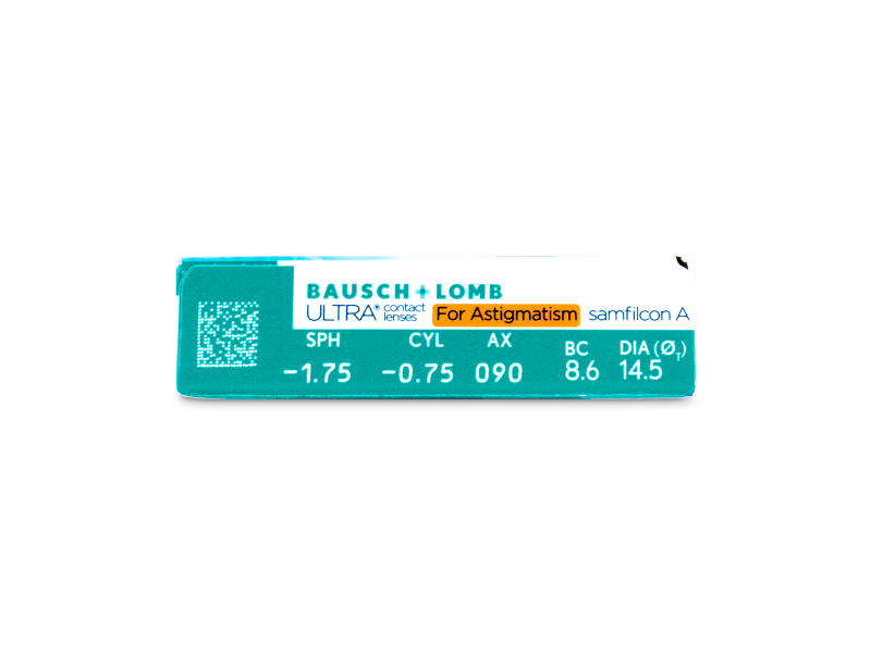 Attributes preview - Bausch + Lomb ULTRA for Astigmatism (6 lente)