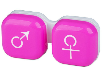 Kuti per Lente mashkull & femer - pink