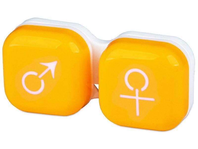 Kuti per Lente mashkull & femer - e verdhe
