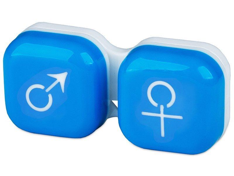Kuti per Lente mashkull & femer - blu