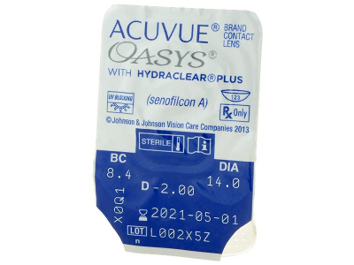 Acuvue Oasys (24lente) - Blister pack preview